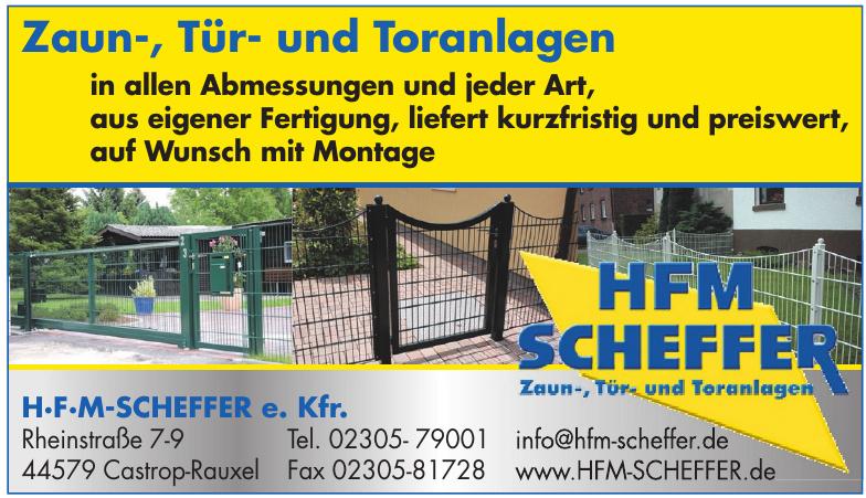 HFM Scheffer