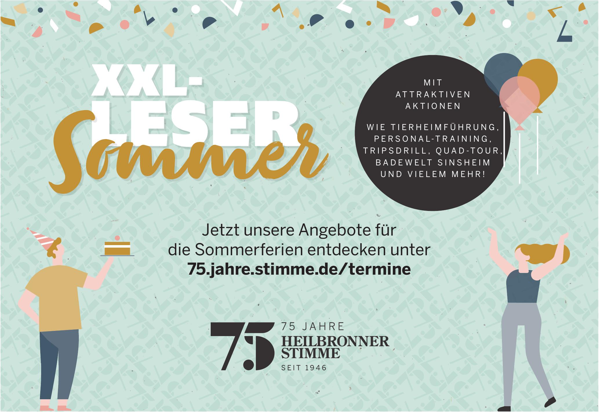 75 Jahre Heilbronner Stimme