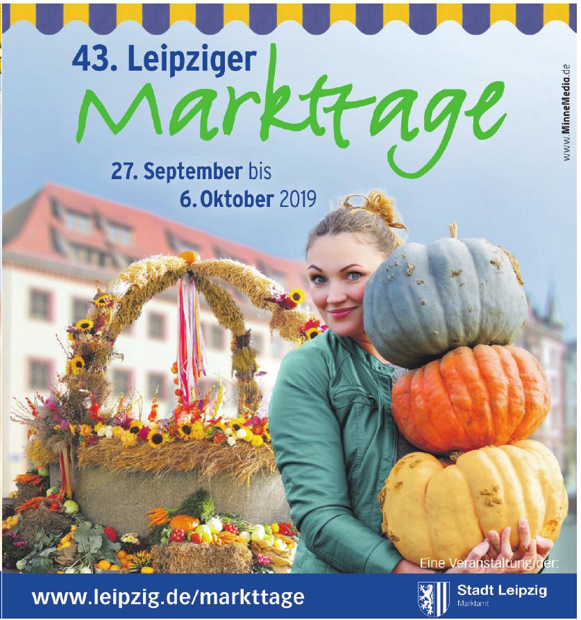 43. Leipziger Markttage