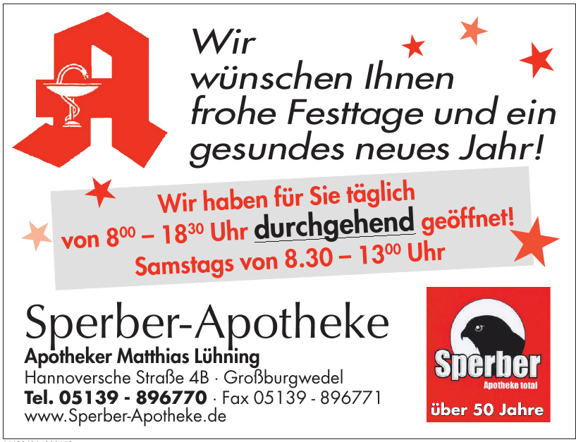 Sperber-Apotheke