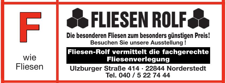 Fliessen Rolf