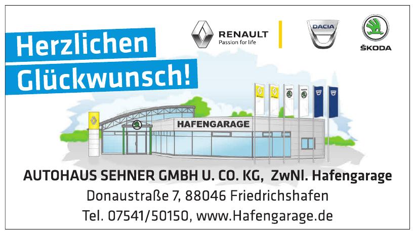 Autohaus Sehner GmbH u. Co. KG, ZwNl. Hafengarage