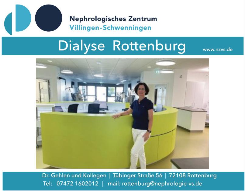 Nephrologisches Zentrum Villingen-Schwenningen - Dialyse Rottenburg