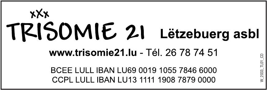 Trisomie 21 Lëtzebuerg a.s.b.l