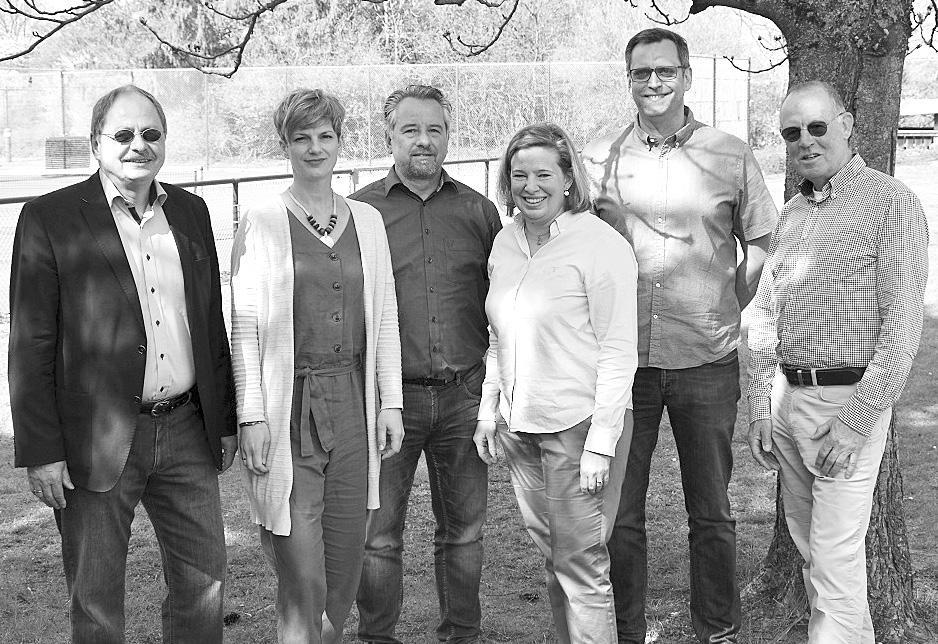 Völkers, Stefan Caro und Volker Harnau. Es fehlt: Jugendwartin Haidrun Ferlemann. Foto: privat