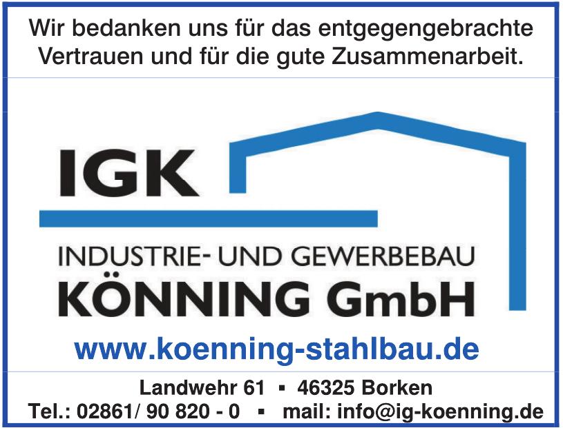 IGK Industrie- und Gewerbebau Könning GmbH