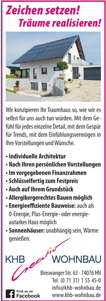 KHB-Creativ Wohnbau GmbH