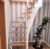 WENN maßgenaue Lösungen wie diese Treppe gesucht werden, ist die Tischlerei Burwieck der richtige Ansprechpartner. Foto: Burwieck