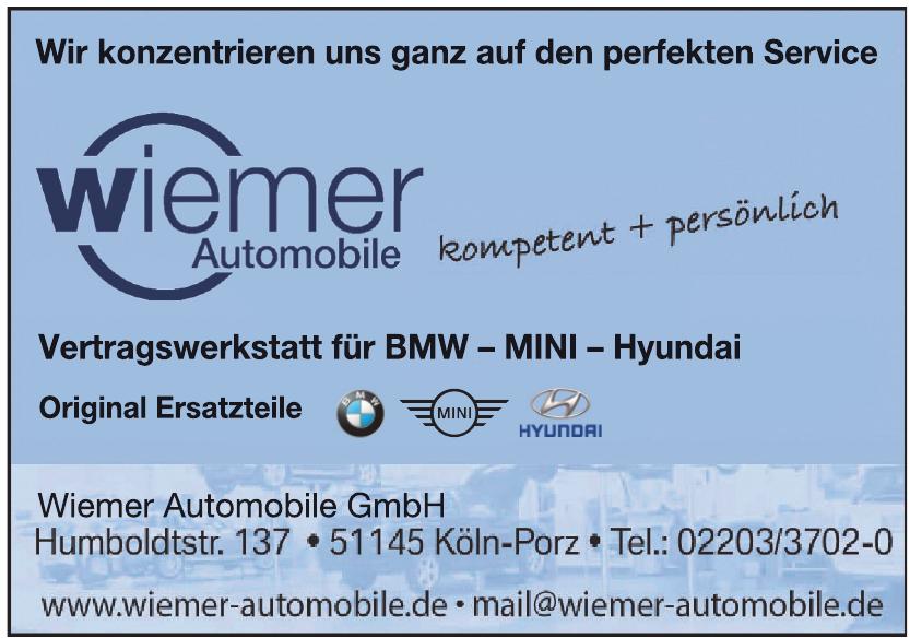 Wiemer Automobile GmbH