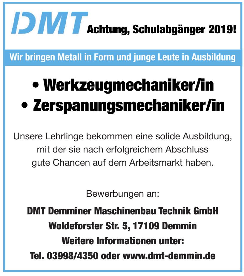 DMT Demminer Maschinenbau Technik GmbH