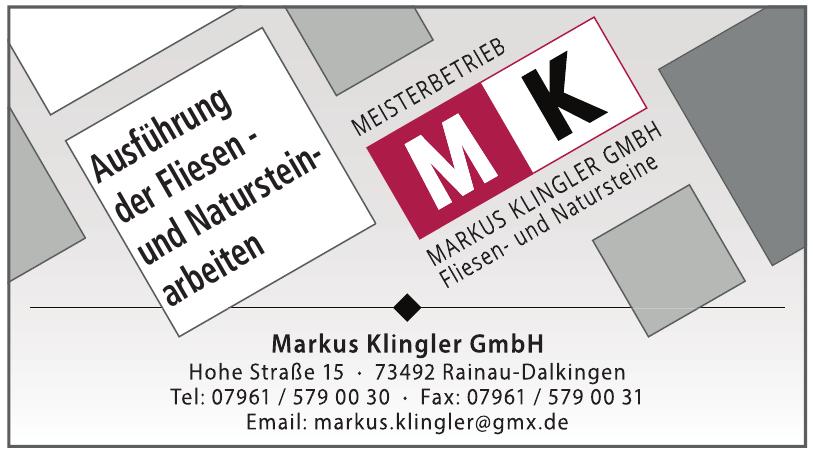 Markus Klingler GmbH
