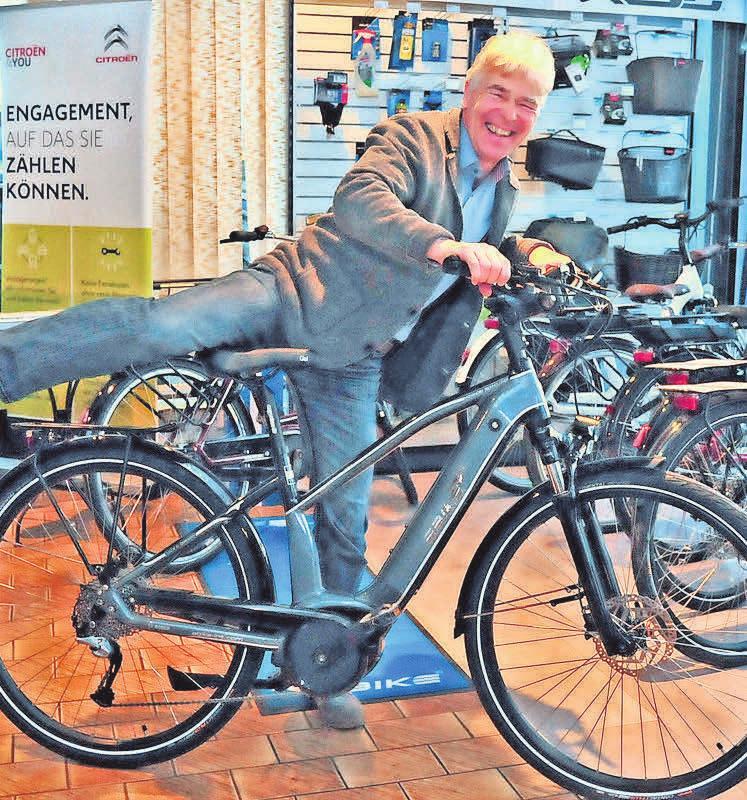 Christian Baumann offeriert hochwertige E-Bikes. Diese können zurzeit per Telefon oder E-Mail bestellt werden.