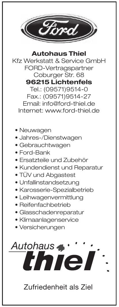 Autohaus Thiel Kfz Werkstatt & Service GmbH