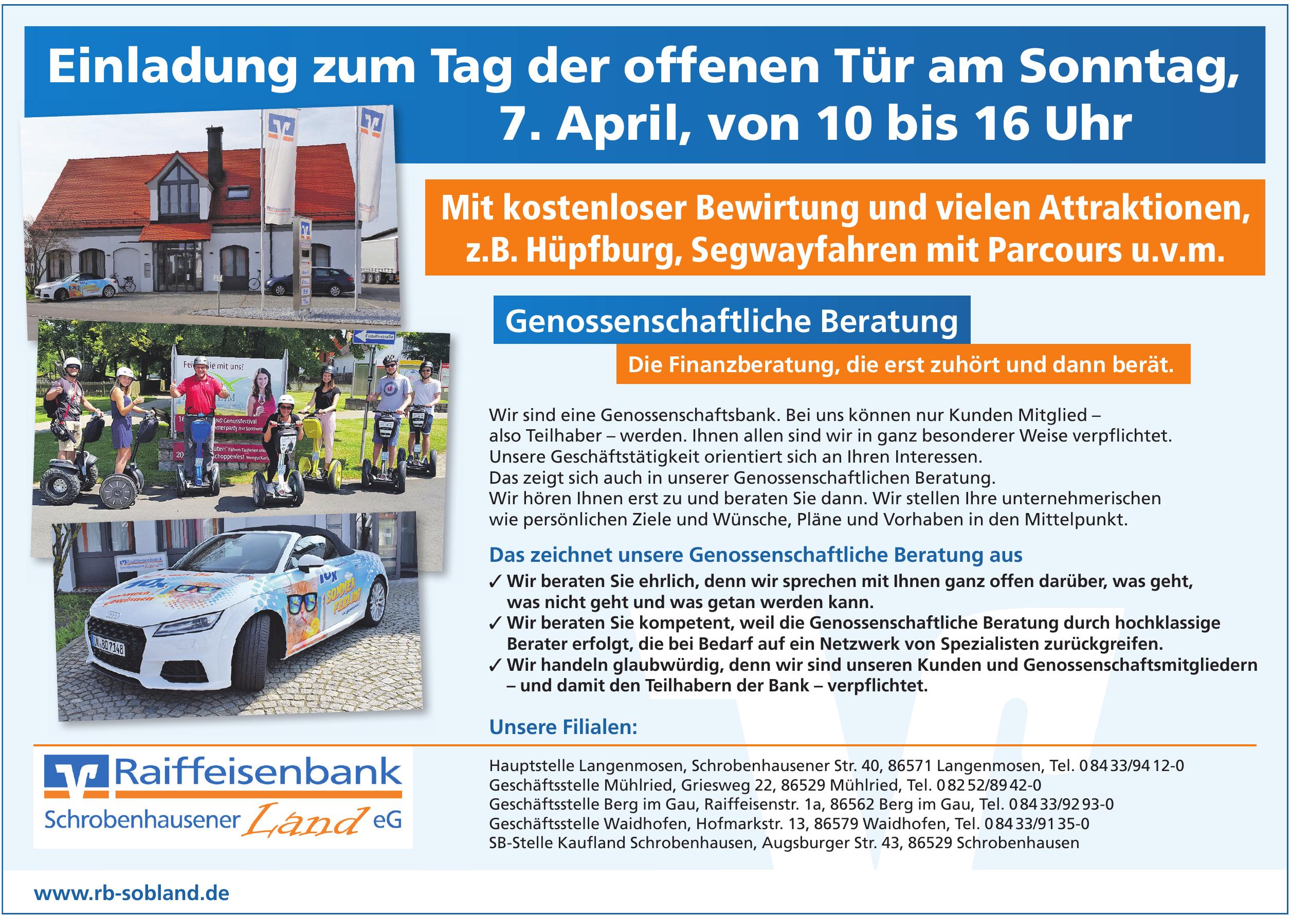 Reiffeisenbank Schrobenhausener Land eG