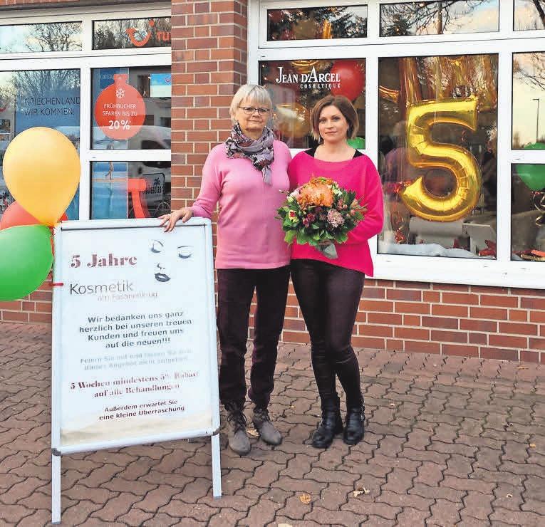 Vor fünf Jahren hat Svetlana Bittner das Institut Kosmetik am Fasanenkrug von Elke Peichmann übernommen und führt es seitdem erfolgreich fort.
