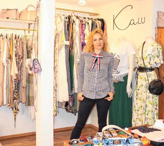 Katharina Ludescher von Kalu Mode & Accessoires führt tolle Mode für Damen und schöne Accessoires.