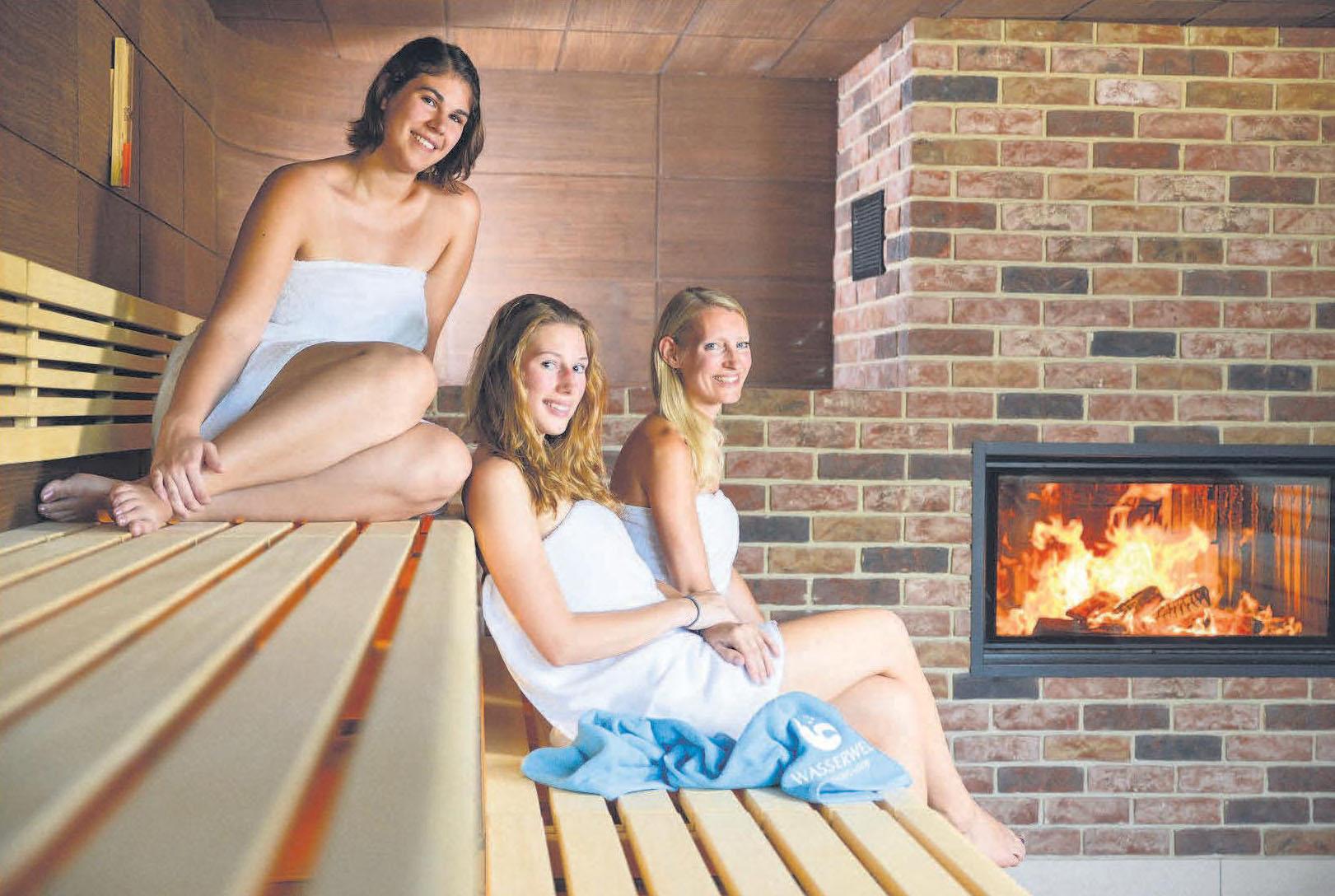 So macht der Winter Spaß: Entspannen und die wohltuende Wärme der Saunalandschaft in der Wasserwelt Langenhagen genießen.