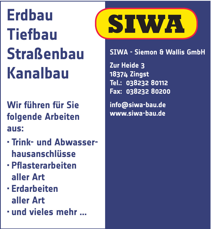 SIWA - Siemon & Wallis GmbH