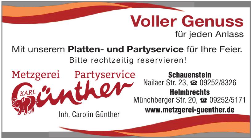 Metzgerei Günther