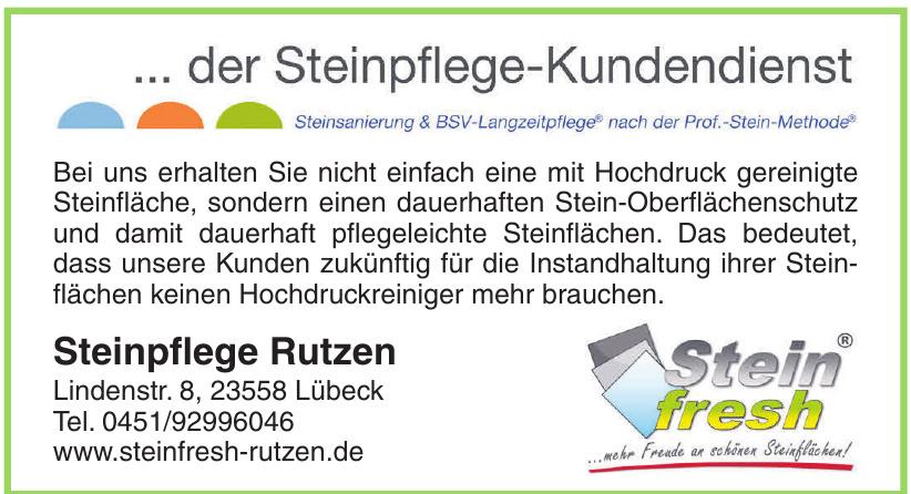 Steinfresh Steinpflege Rutzen
