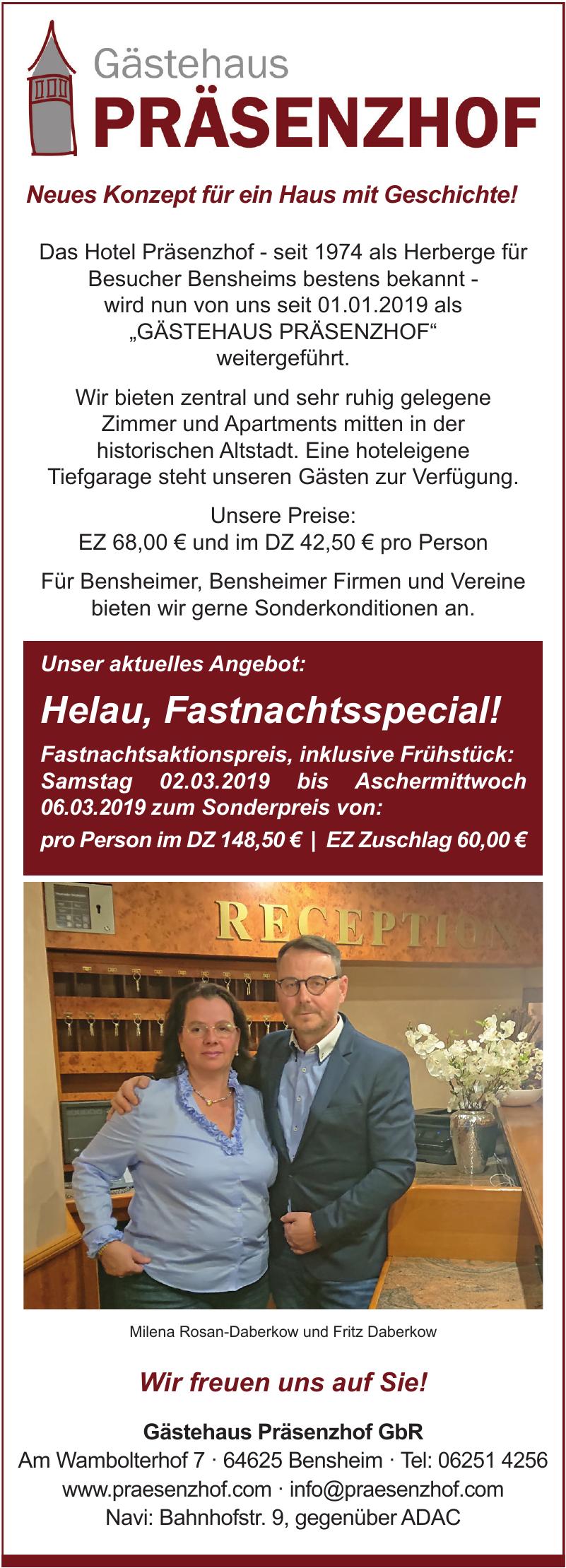 Gästehaus Präsenzhof GbR