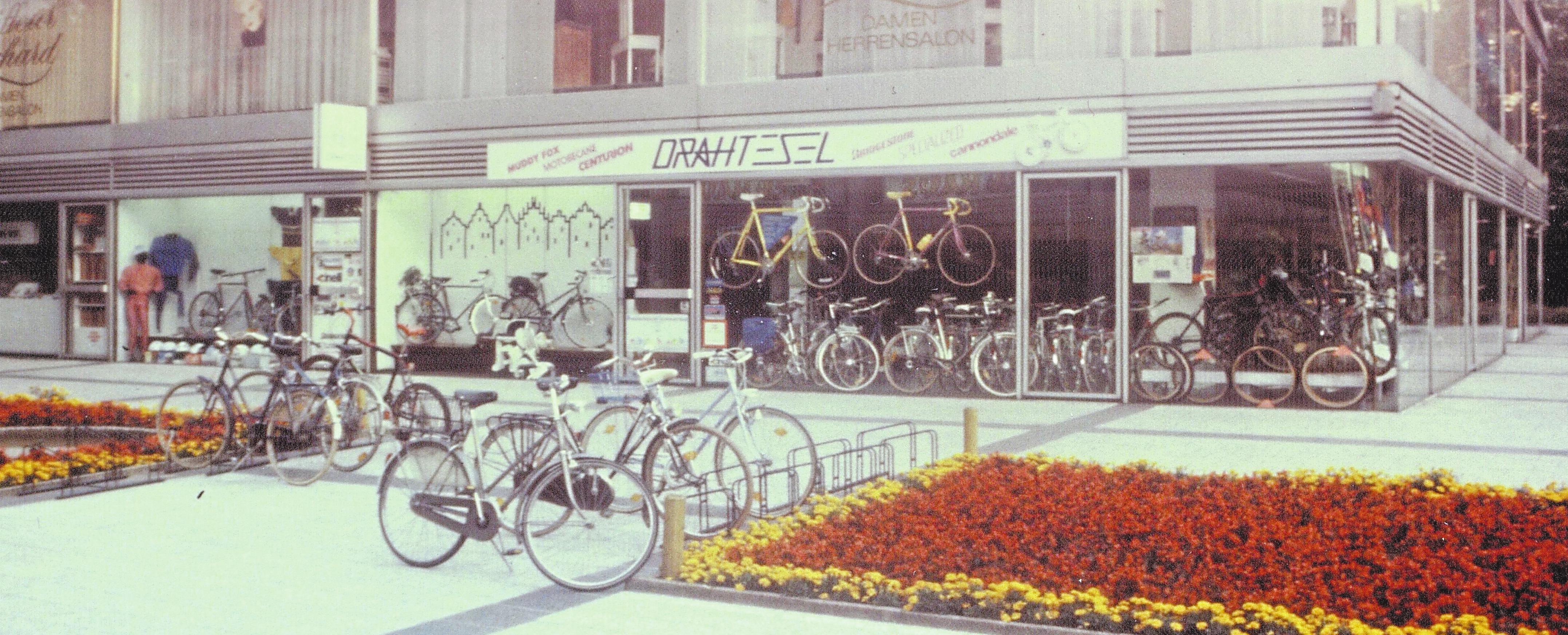 1988 zog das Team mit dem Drahtesel an den Servatiiplatz. Dort sind die Leezen-Liebhaber noch heute zu finden. Foto: Drahtesel