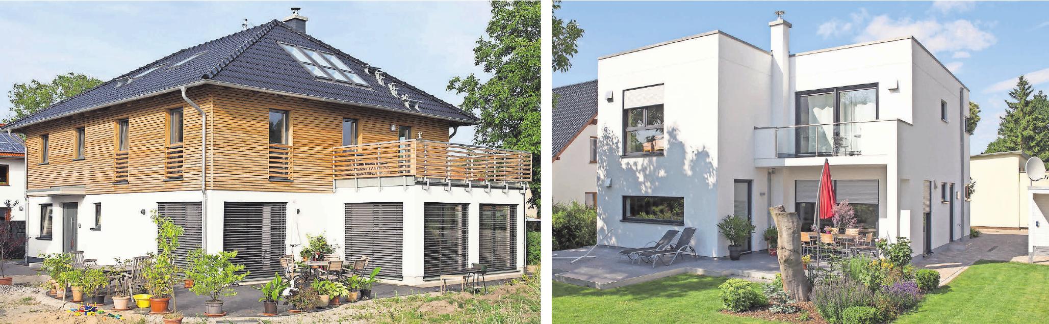 Jedes einzelne Haus – ob klassisch, romantisch oder modern – ist genau auf die Bedürfnisse der Bauherren zugeschnitten. Foto: Egner-Haus