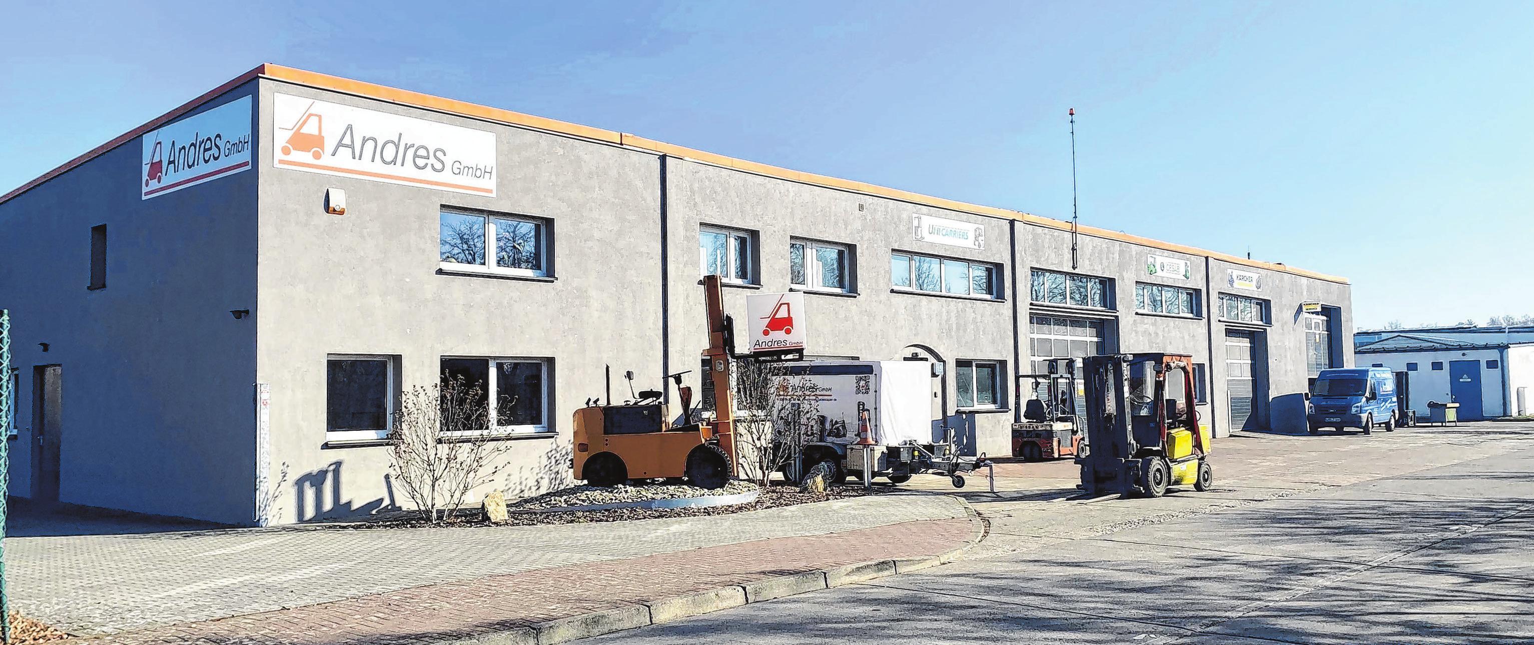 Die 1982 gegründete Firma Andres GmbH hat seit 1995 ihren Standort im Gewerbepark. Fotos (2): A. Winkler