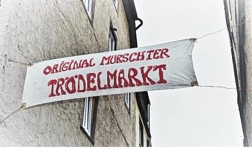Treffpunkt für Flohmarktfreunde ist am 13. Oktober ab 8 Uhr der Original Mürschter Trödelmarkt. FOTO: TONYA SCHULZ<div><br></div>