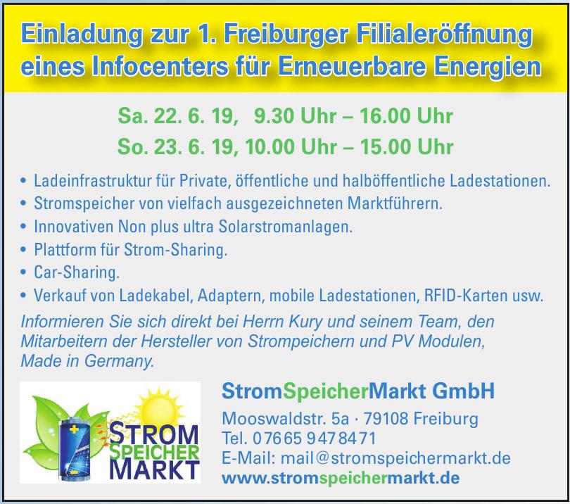 StromSpeicherMarkt GmbH