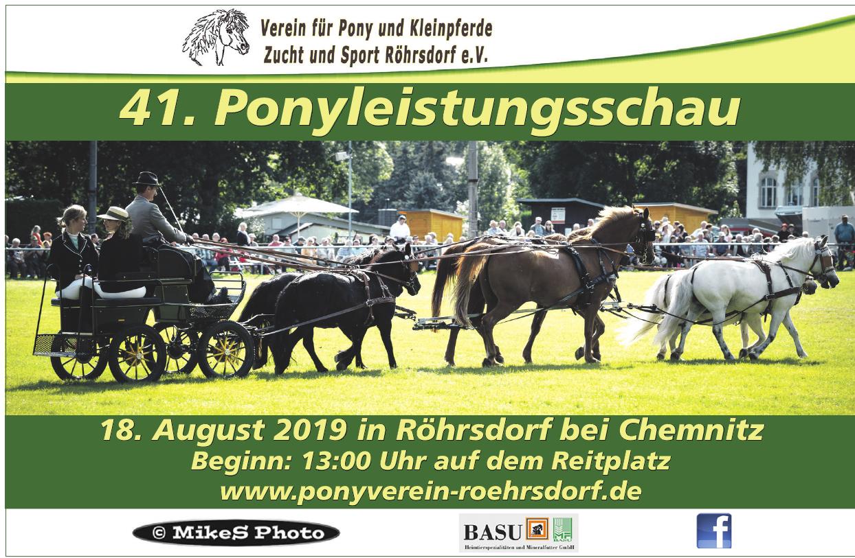 Verein für Pony und Kleinpferde Zucht und Sport Röhrdorf e.v.