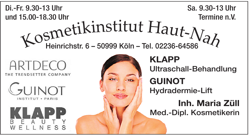 Kosmetikinstitut Haut-Nah