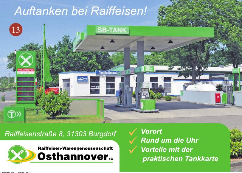 Raiffeisen Warengenossenschaft Osthannover eG