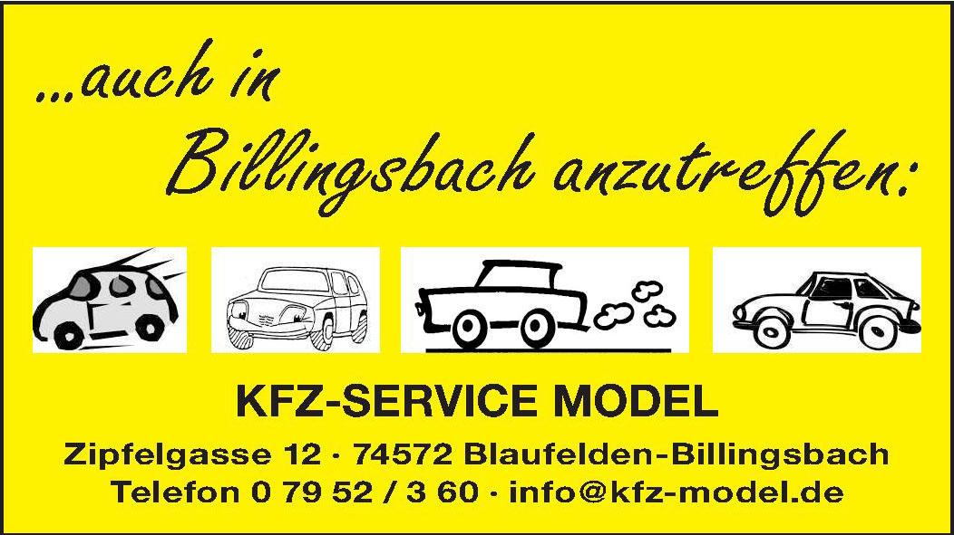 Kfz-Service Model