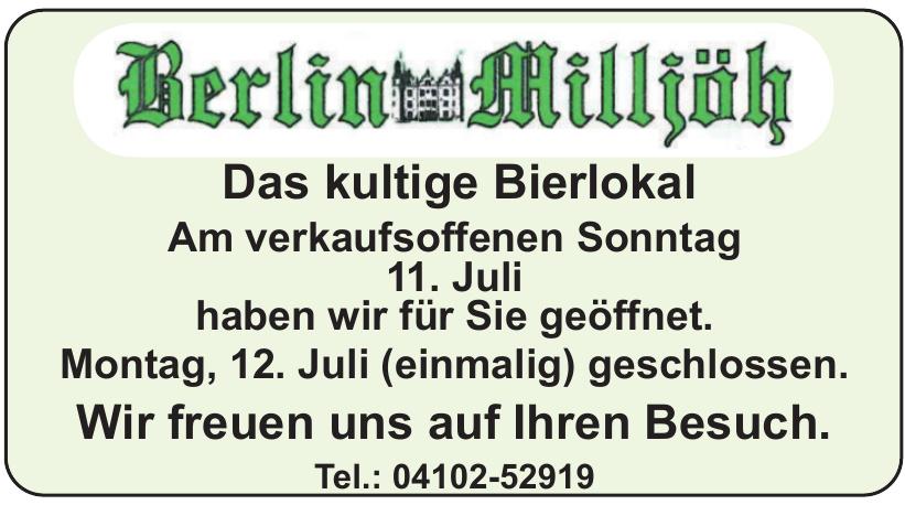 Berlin Milljöh