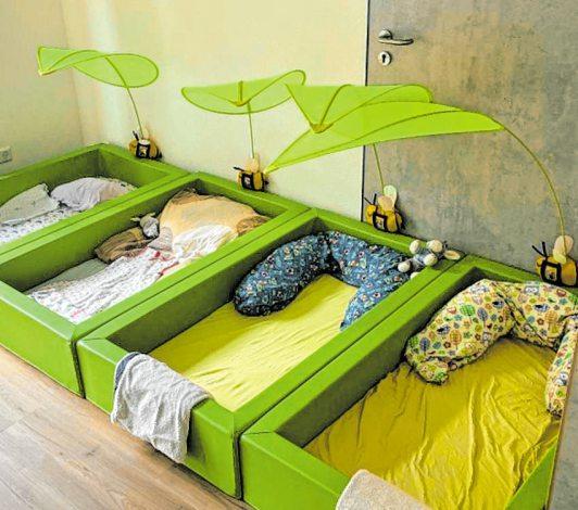 Hier kann man ruhig und sorglos schlafen.