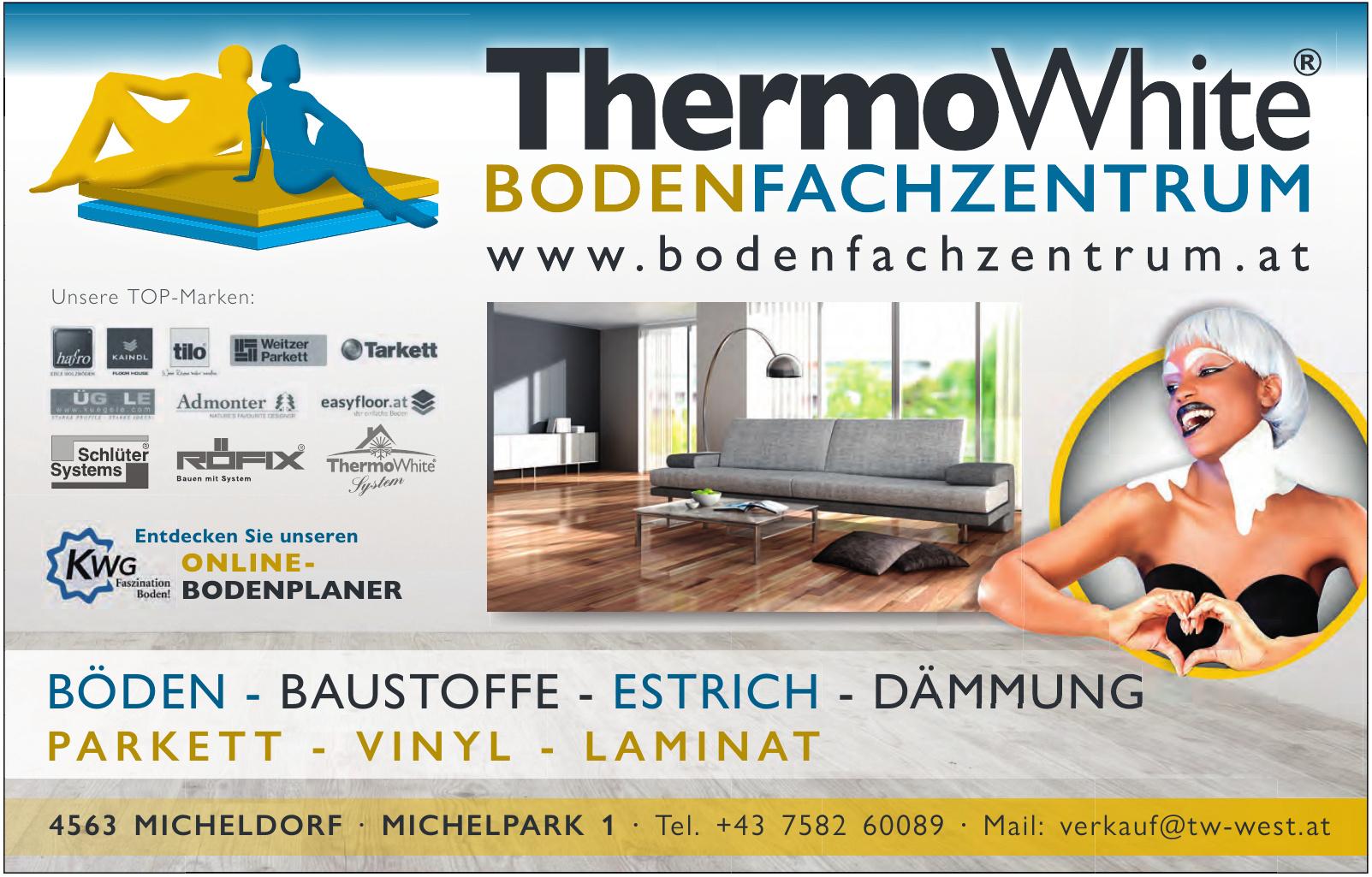 ThermoWhite®-Bodenfachzentrum