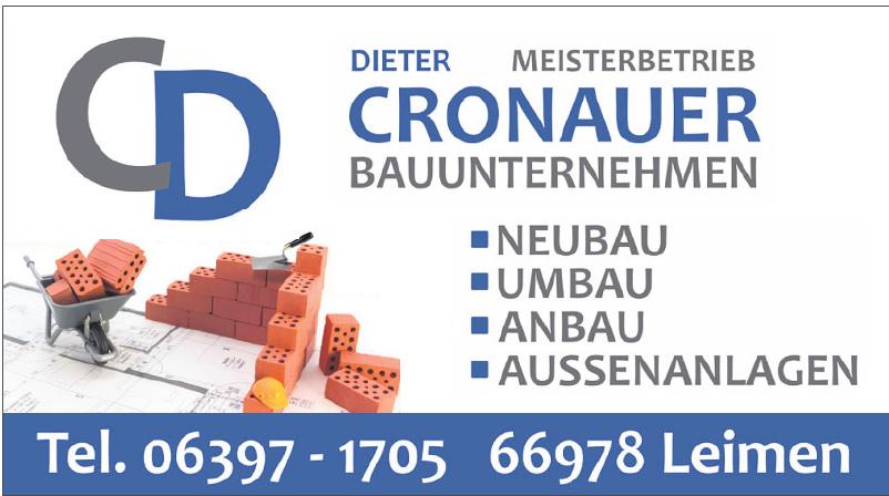 CD Dieter Cronauer Bauuntermehmer