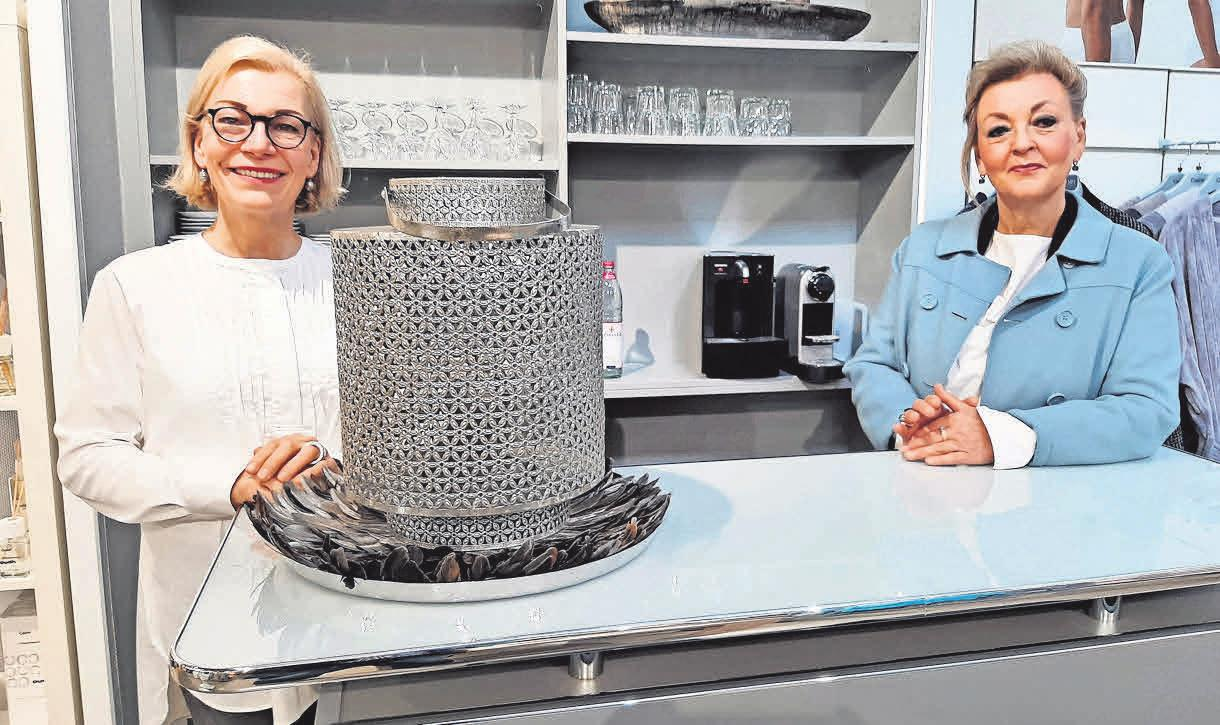 Regina Rosenbaum (links) und Marina Zerbe schauen zuversichtlich in den Sommer.