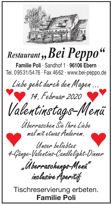 "Restaurant ""Bei Peppo"""