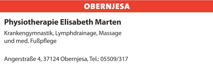 Physiotherapie Elisabeth Marten