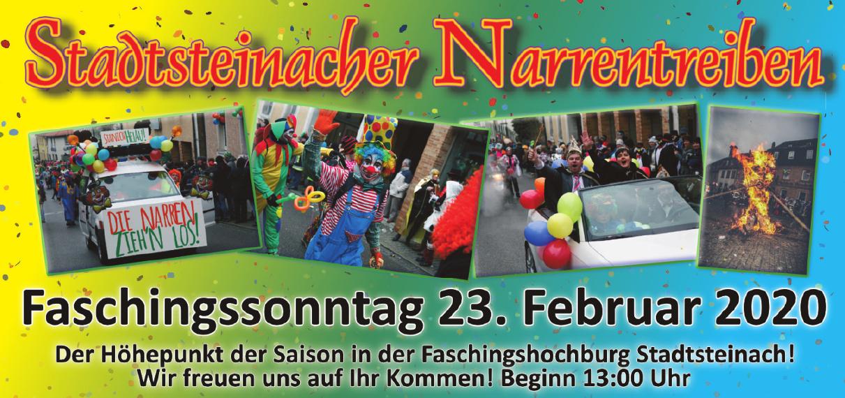 Stadtsteinacher Narrentreiben