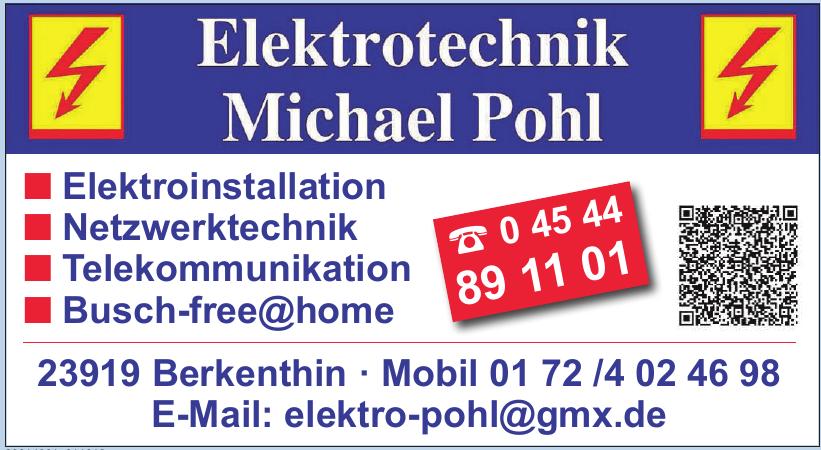 Elektrotechnik Michael Pohl