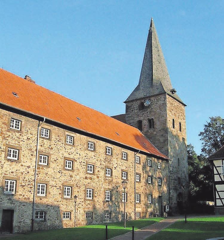Das Kloster ist der Mittelpunkt Wennigsens.