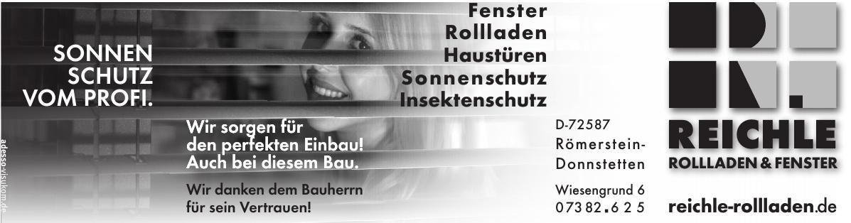 Reichle Rolladen & Fenster