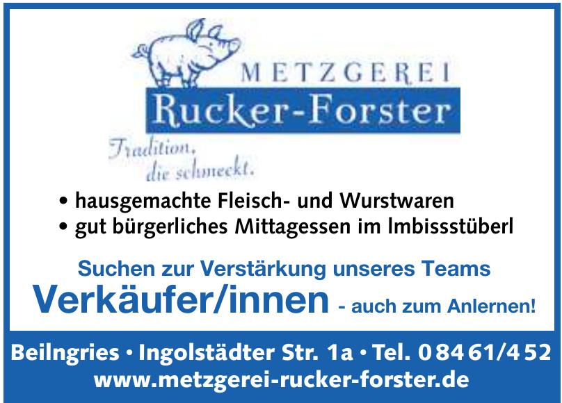 Metzgerei Rucker-Forster