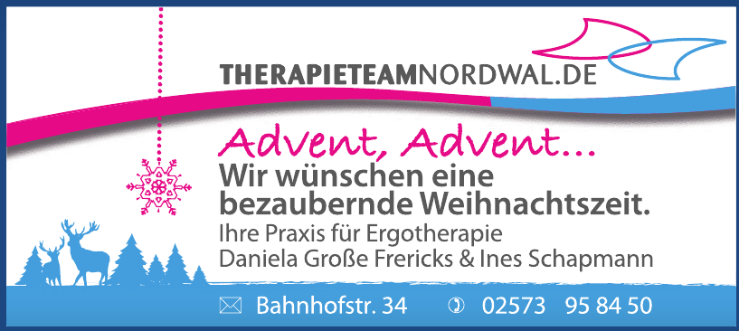 Gemeinschaftspraxis für Ergotherapie D. Große Frericks & I. Schapmann
