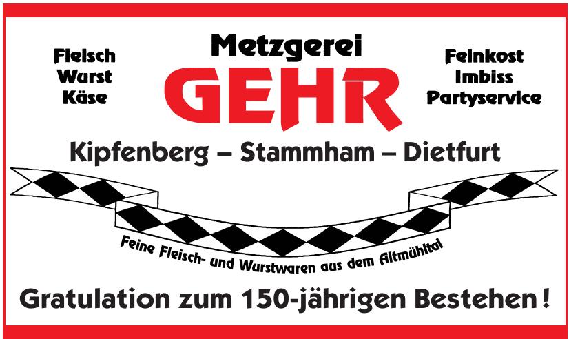 Metzgerei Gehr