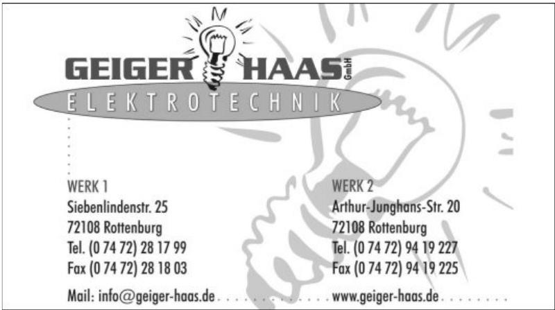 Geieger Haas GmbH