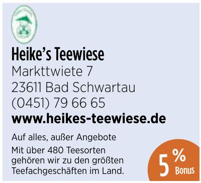 Heike's Teewiese